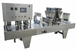 Café Cápsula de llenado y sellado de la máquina