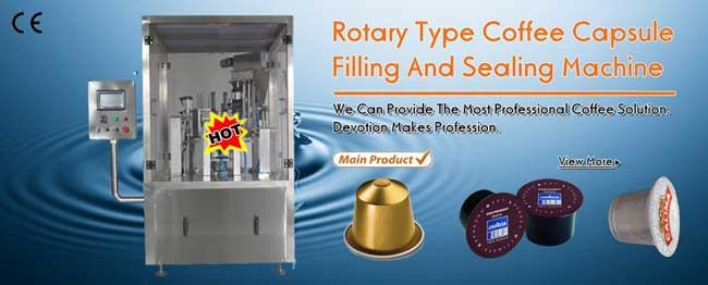 Rotary-Type-Coffee-Capsule-Filling-Sealing-Machine