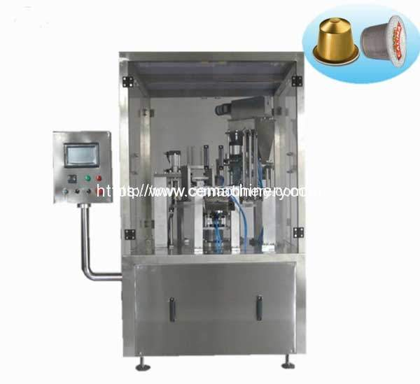 Rotary-Type-K-Cup-Coffee-Capsule-Filling-Sealing-Machine