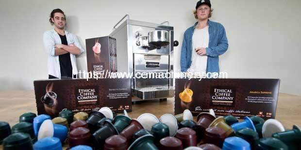 Eco-friendly coffee capsule gives young Kiwis shot at big time