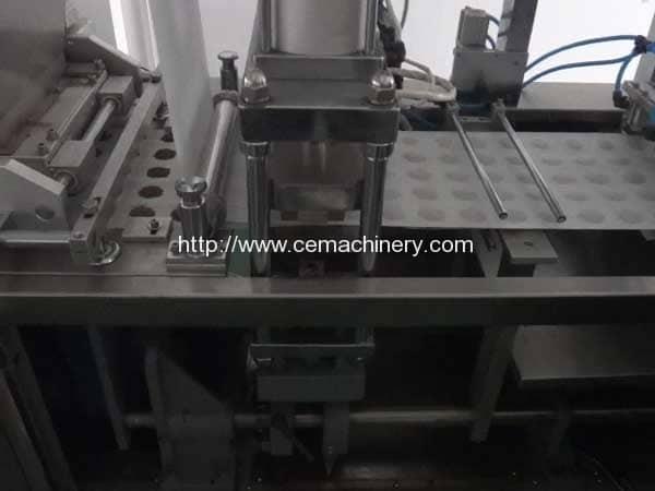 Horizontal-Type-Coffee-Pod-Filling-Sealing-Machine