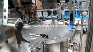 Rotary Tipo K-Cup Café Cápsula de llenado y sellado de la máquina