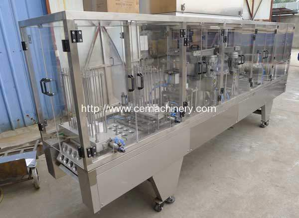 Linear Type Coffee Capsules Filling Sealing Machine