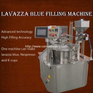 Rotary Type Lavazza Blue Filling Machine