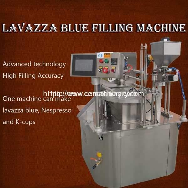 Coffee-Capsule-Lavazza-Blue-Filling-Machine