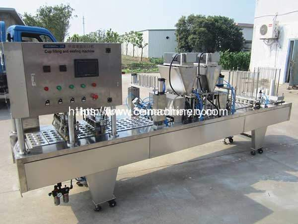 Coffee-Cup-Filling-Sealing-Machine