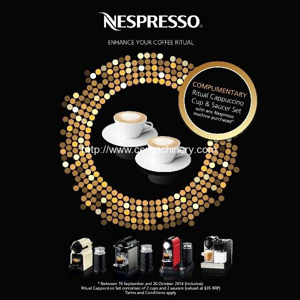 Enhance Your Coffee Ritual with Nespresso