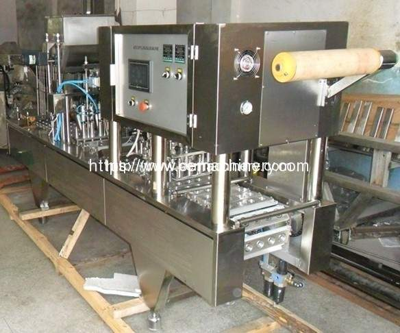 Four-Cup-Coffee-Capsule-filling-sealing-machine 2