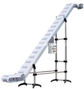 Inclined Conveyor for Fragile Bulk Product
