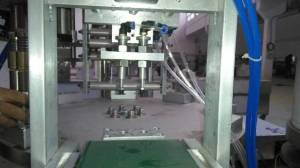 Capsule Outputting of Rotary Type Coffee Capsule Filling Sealing Machine