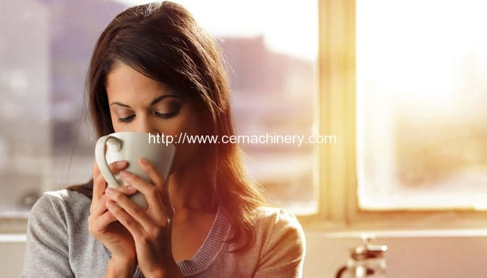 Have a coffee via your smartphone