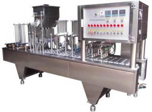 خطي نوع القهوة كبسولة ملء آلة الختم لكسب قهوة نسبرسو لافازا
