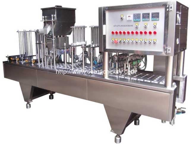 Линейный тип кофе для наполнения капсул машина запечатывания для K-Cup, кофемашиной, Lavazza