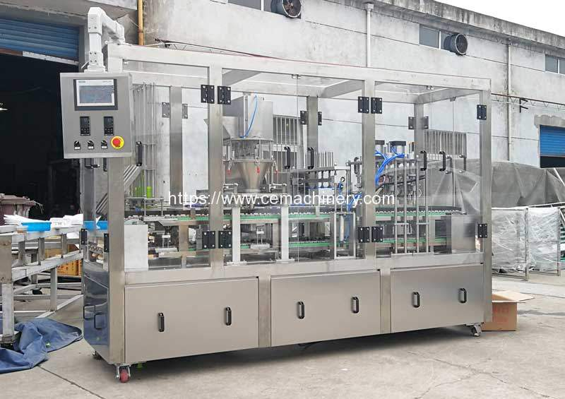 Linear-Type-Kcup-Lavazza-Nespresso-Coffee-Capsule-Filling-Sealing-Machine
