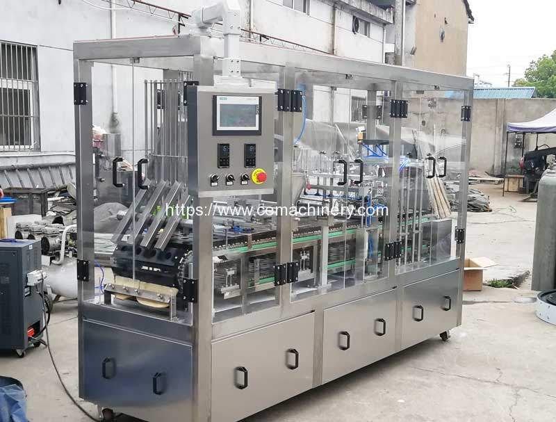 Automatic Ronnefeldt Tea Capsules Fillling Sealing Machine