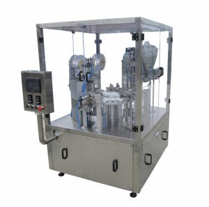 Rotary Type Coffee Capsule Filling Sealing Machine for Brazil Market