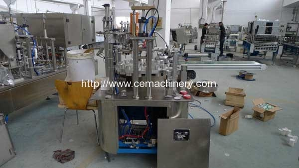 Rotary-K-Cup-Coffee-Capsule-Filling-Sealing-Machine