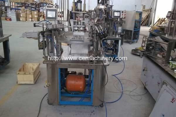 Rotary-Type-Coffee-Capsule-Filling-Sealing-Machine