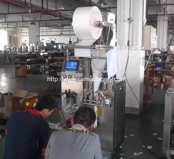 Vertical-Coffee-Pods-Filling-Packing-Machine