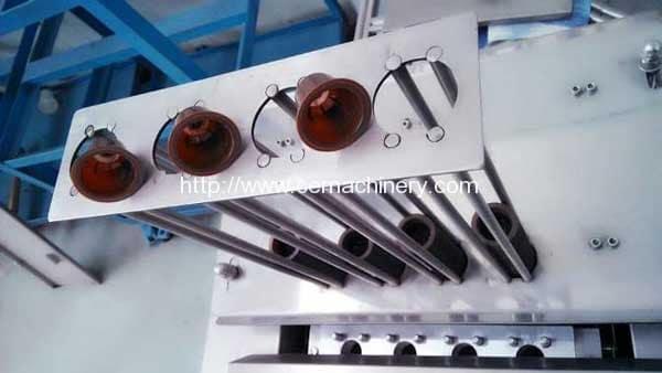 coffee-capsule-falling-of-linear-type-coffee-capsule-filling-sealing-machine