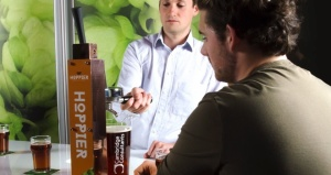 Cambridge Consultants use coffee machine technology for 'espresso' of beer