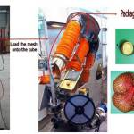 Mesh Bag Loader for Clipping Machine