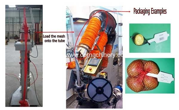Mesh-Bag-Loader-for-Clipping-Machine
