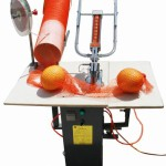 Double Pneumatic Mesh Bag Clipping Machine