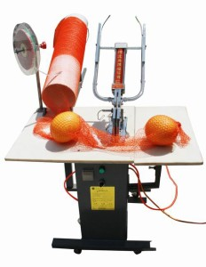 Double Pneumatic Mesh Bag Clipping Machine