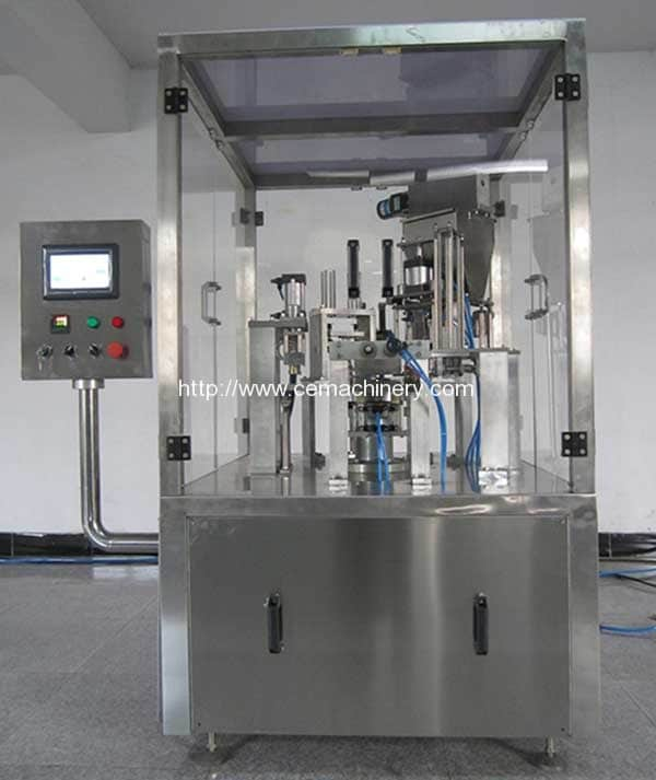 Rotary Type Coffee Capsules Filling Sealing Machine