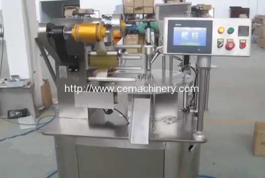 Rotary-Type-Lavazza-Blue-Coffee-Capsules-Filling-Sealing-Machine