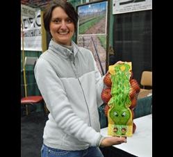 custom-wrapped alligator-themed bag designed for Borton Fruit