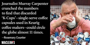 Coffee pods The new eco villain