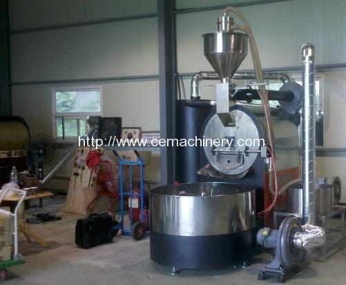 Gas Heating-Electric Heating Coffee Baking Machine