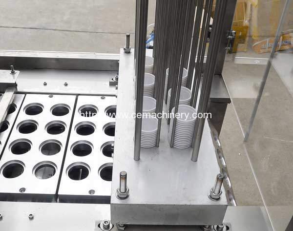 Linear-Type-Coffee-Capsules-Filling-Sealing-Machine-Cup-Falling-Device