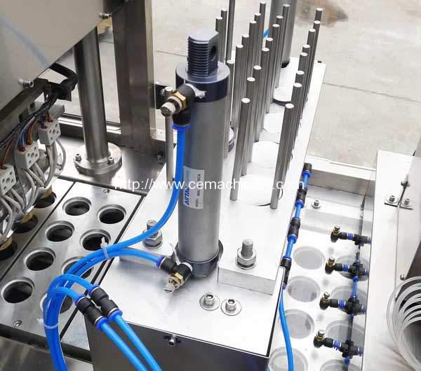 Linear-Type-RML-Coffee-Capsules-Filling-Sealing-Machine-Aluminium-Lid-Falling-Device