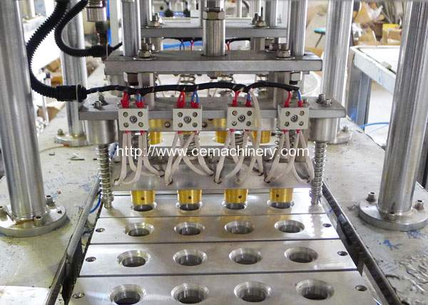 Linear Type Coffee Capsule Filling Sealing Machine For K