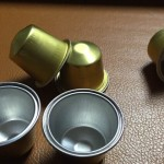 Aluminio Material de cápsulas de café Nespresso compatible