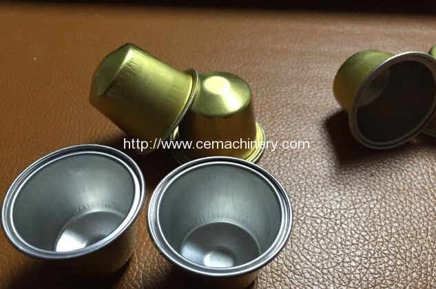 Aluminium Made Empty Nespresso Coffee Capsules (1)