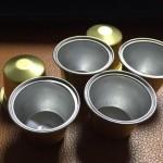 Aluminium Made Nespresso Coffee Capsules