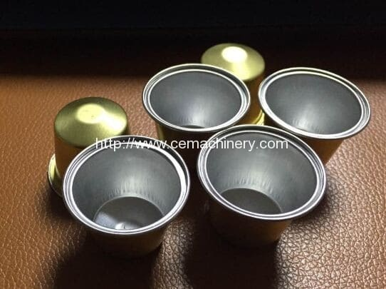 Aluminium Made Empty Nespresso Coffee Capsules (2)