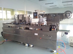 Caffitaly Coffee Capsules Filling Sealing Machine with Capsule Forming Function