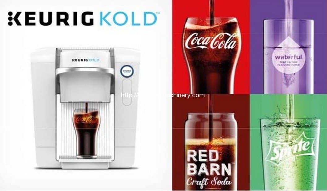 Keurig's highly-anticipated KOLD machine.