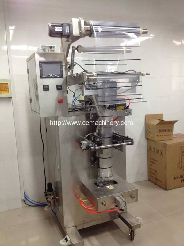Vertical Plastic Bag Packing Machine for Nespresso, Kcups, Lavazza ...