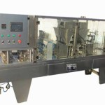 Ten Lane Coffee Capsule Filling Sealing Machine with Glass Cover