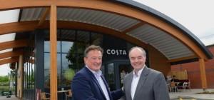 UK's first zero energy coffee shop