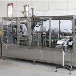 Automatic Emtpy Coffee Capsule Feeding Type Filling Sealing Machine