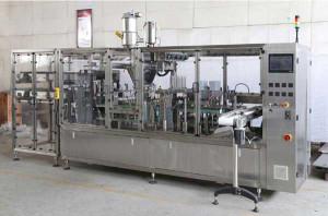 Automatic Emtpy Coffee Capsule Feeding Type Filling Sealing Machine