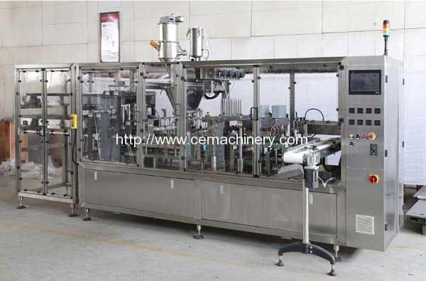 Automatic-Emtpy-Coffee-Capsule-Feeding-Type-Filling-Sealing-Machine