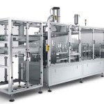 High Speed Kcups Coffee Capsules Filling Sealing Machine